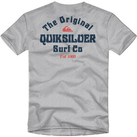 Quiksilver Energy Project SS Tee Men micro chip heather